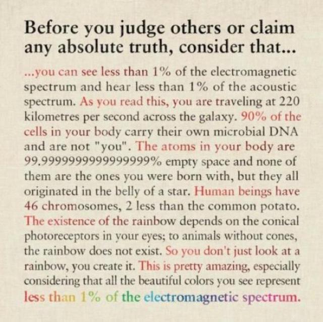 Avant de juger quelqu'un...